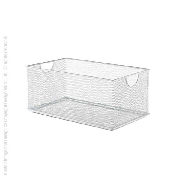 Picture of MESHWORKS® STACKING BIN (WHITE: 8 X 14)