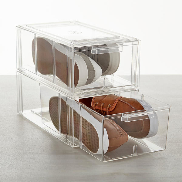 Picture of Clear Stackable Large Shoe Drawer